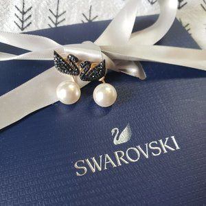 Flash sale💥Swarovski Iconic Swan Earring Jackets